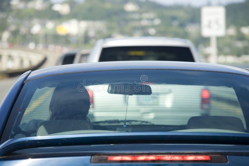 Download Auf Lagerfoto Des Verkehrs Auf Der Der Jugend Schacht-Brücke Stockfoto - Bild von zeile, gelb: 853182