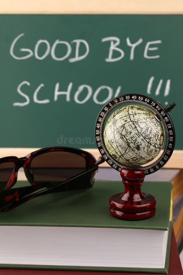 Auf Wiedersehen Schule Lizenzfreie Stockfotografie