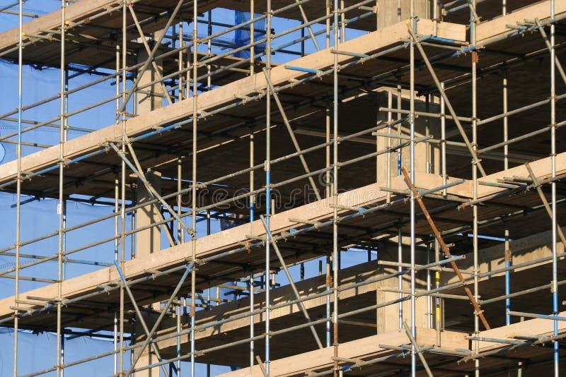 Aufbau-Block stockbilder