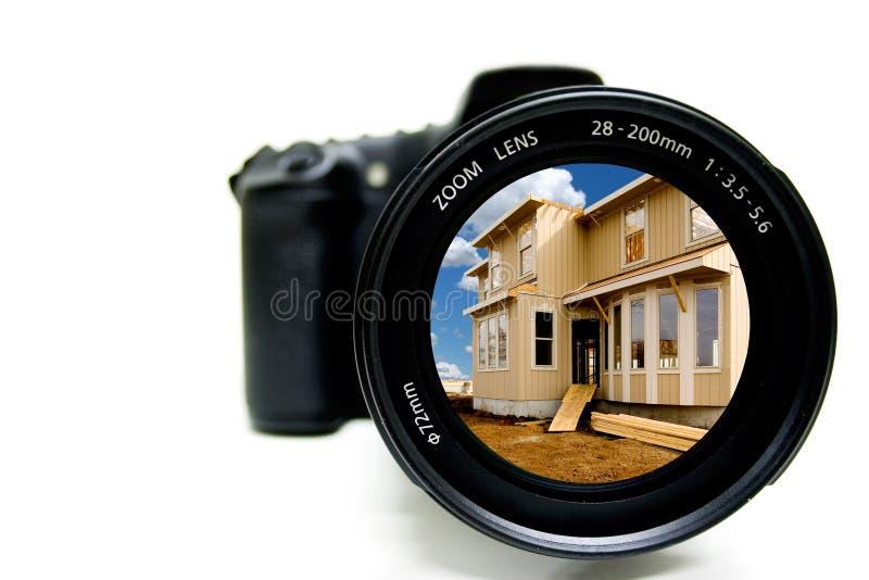 Aufbau-Fotographie lizenzfreies stockbild