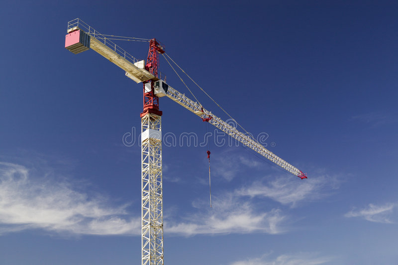 Download Aufbau-Kran stockbild. Bild von handel, industriell, schattenbild - 31629