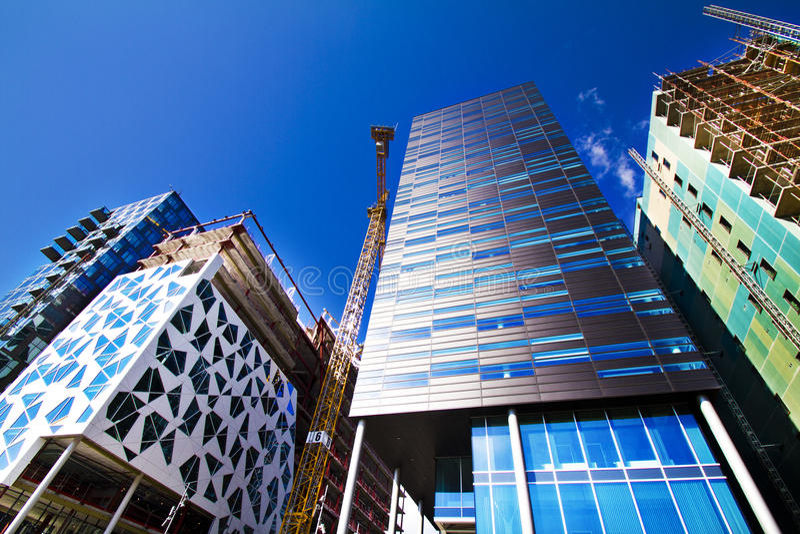 Aufbau in Oslo, Norwegen lizenzfreie stockfotos