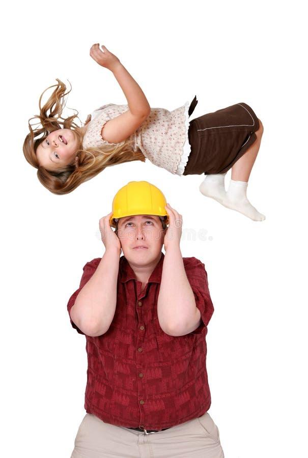 Aufbau und Kind lizenzfreies stockfoto
