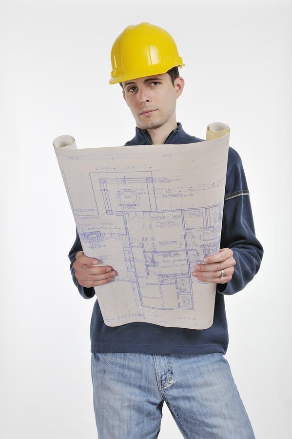 Aufbau-Vorarbeiter lizenzfreie stockfotos