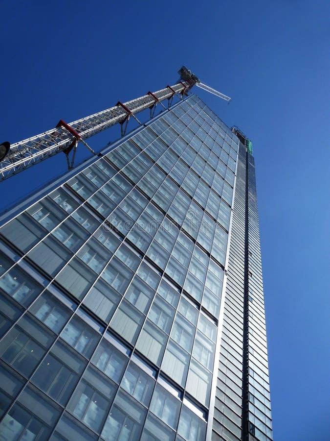Aufbauen im Bau in London