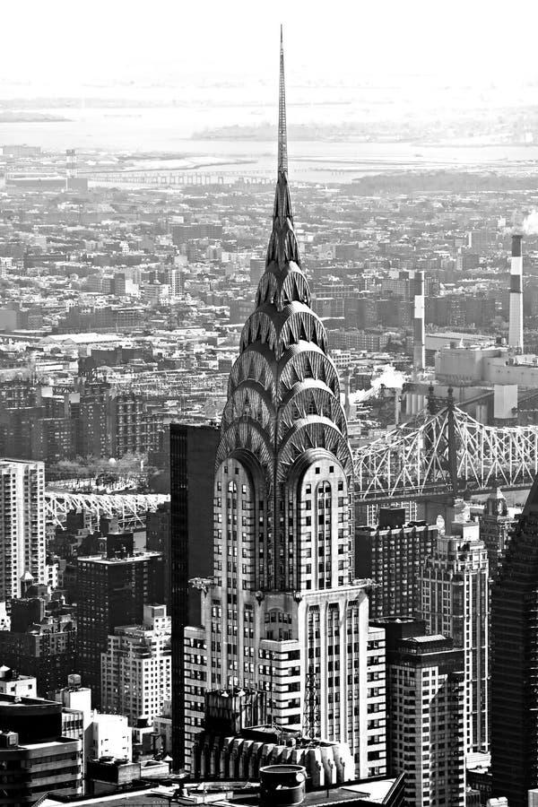 Aufbauende Chrysler, New York City, USA. lizenzfreies stockfoto