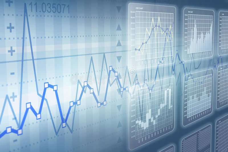 Aufbauendes Geldtermingeschäft lizenzfreie abbildung