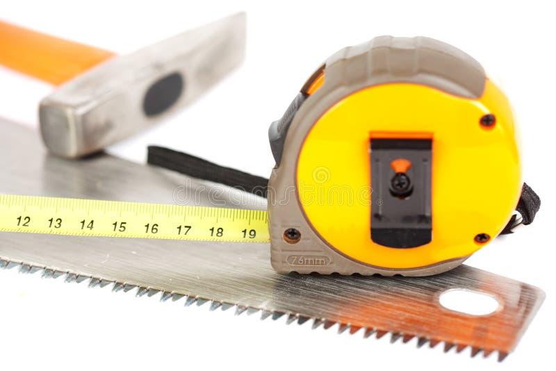 Aufbauhilfsmittel getrennt auf Weiß lizenzfreies stockfoto