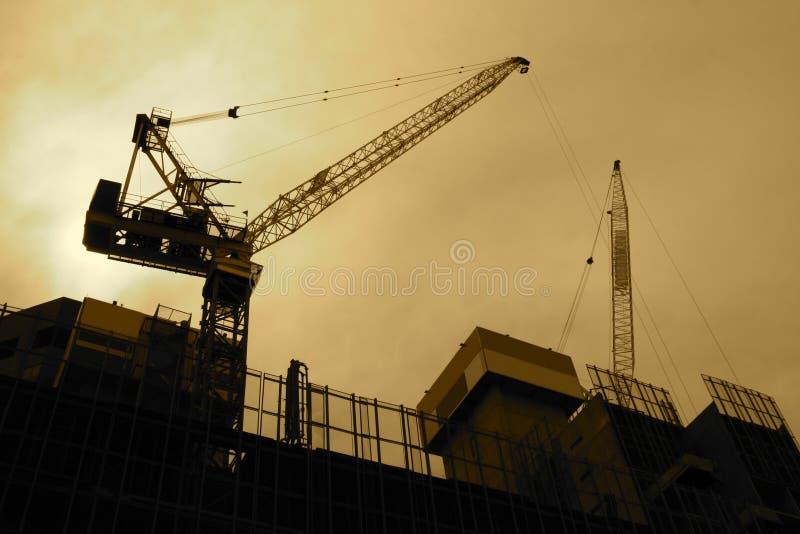 Aufbauzone stockfoto