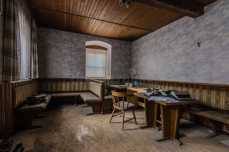 Aufenthaltsraum eines Gästehauses stockfotografie