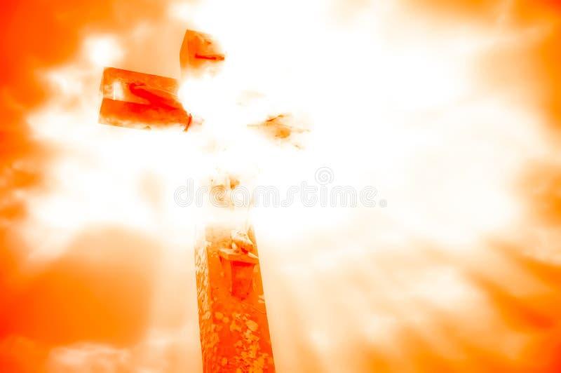 auferstehung stock abbildung
