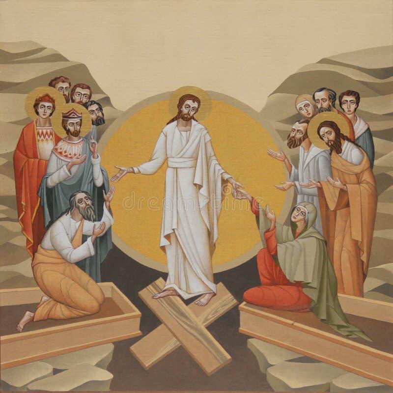 Auferstehung des Lords lizenzfreie stockbilder