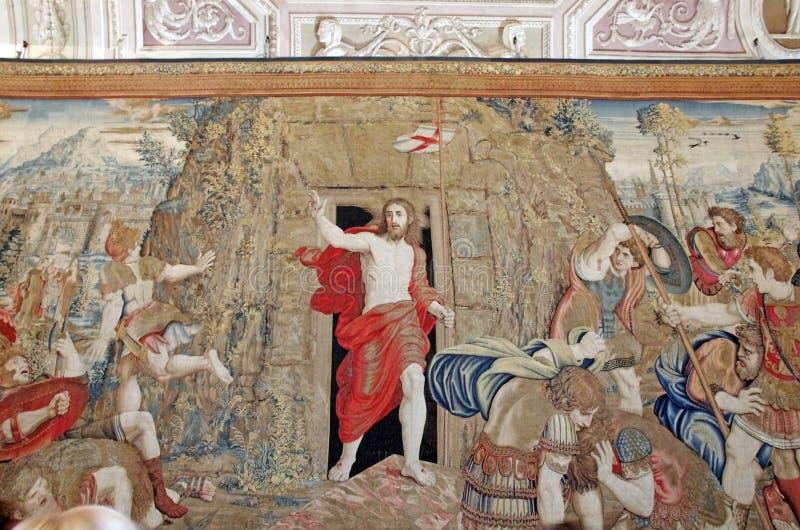 Auferstehung von Christ stockfotos