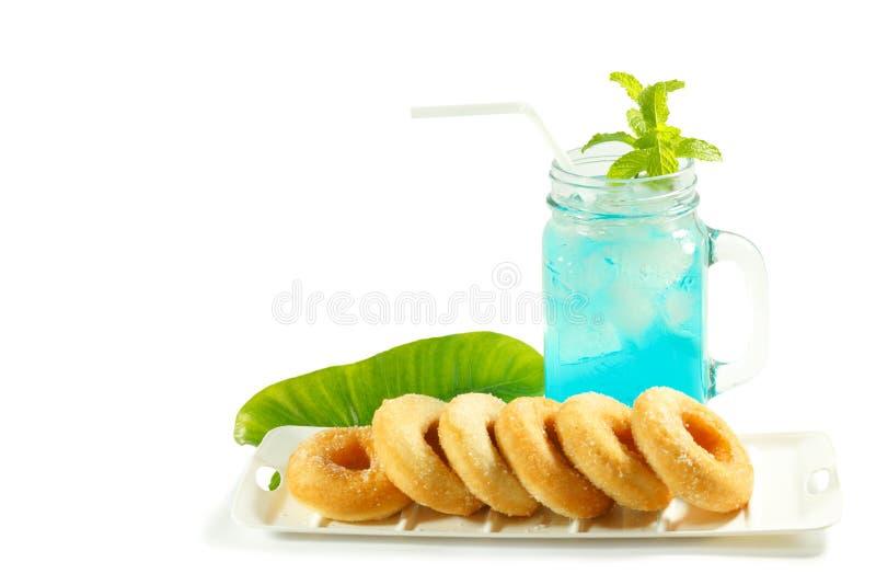 Auffrischungssommergetränke im Glas lizenzfreies stockfoto