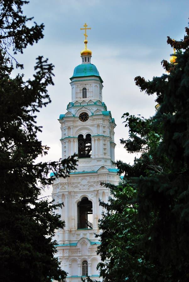 Aufgebaut in 1507-1533 Jahren Der Kreml in Astrakhan, Russland Farbfoto lizenzfreie stockbilder