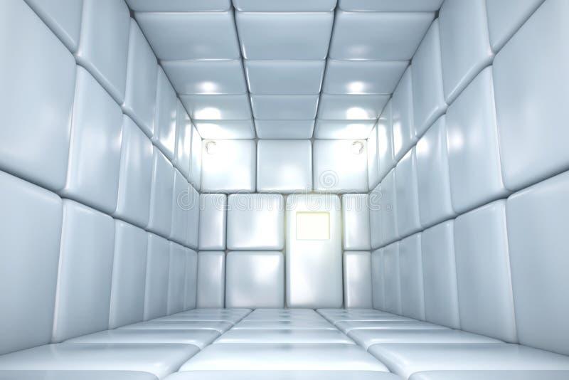 Aufgefüllter Raum lizenzfreie stockfotografie