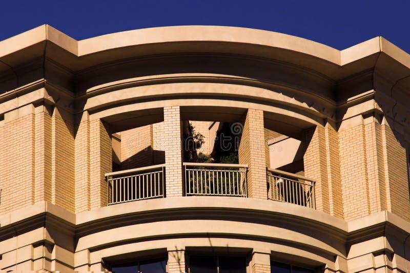 Aufgerundete Architektur-Dachböden stockfotos