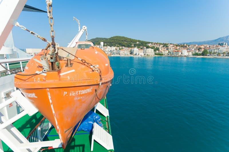 Aufgeteilter Hafen lizenzfreie stockfotografie