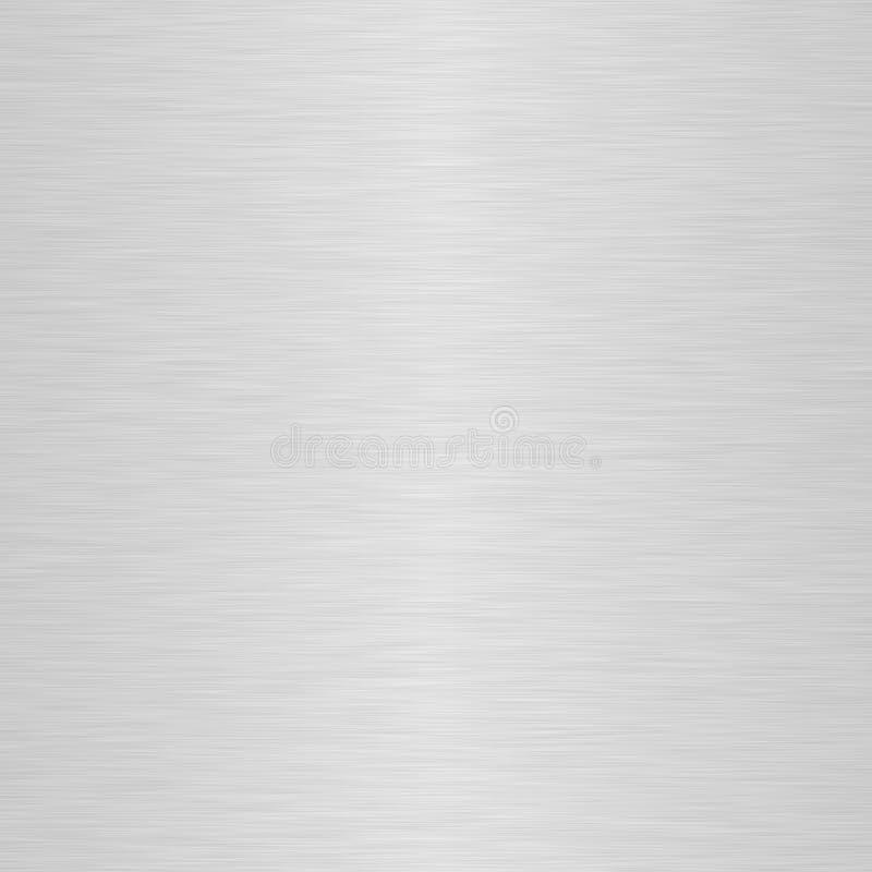Aufgetragene Aluminiumplatte stock abbildung