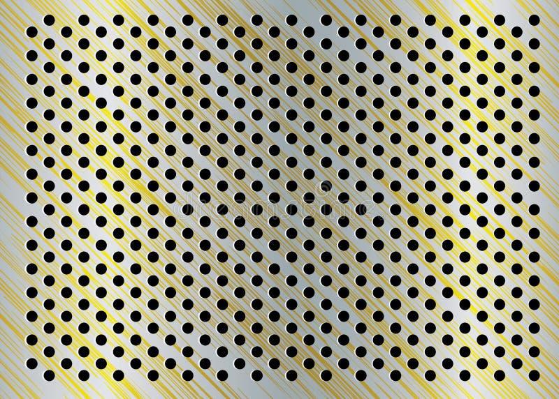 Aufgetragener Goldhintergrund vektor abbildung