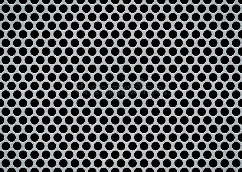 Aufgetragener Metallriese vektor abbildung