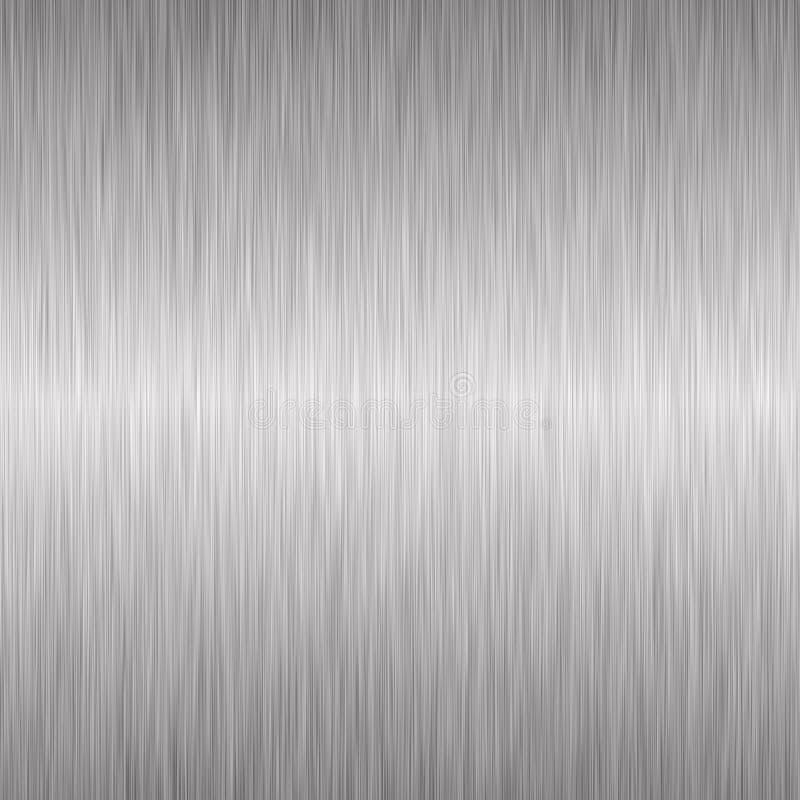 Aufgetragener silberner metallischer Hintergrund vektor abbildung