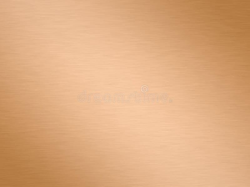 Aufgetragenes Kupfer lizenzfreie abbildung