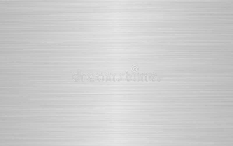 Aufgetragenes Metall stock abbildung
