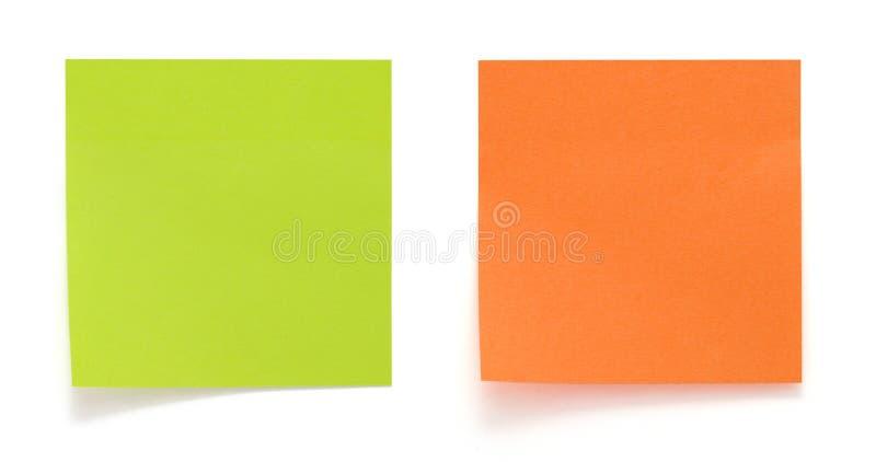 Aufkleber getrennt stockbilder