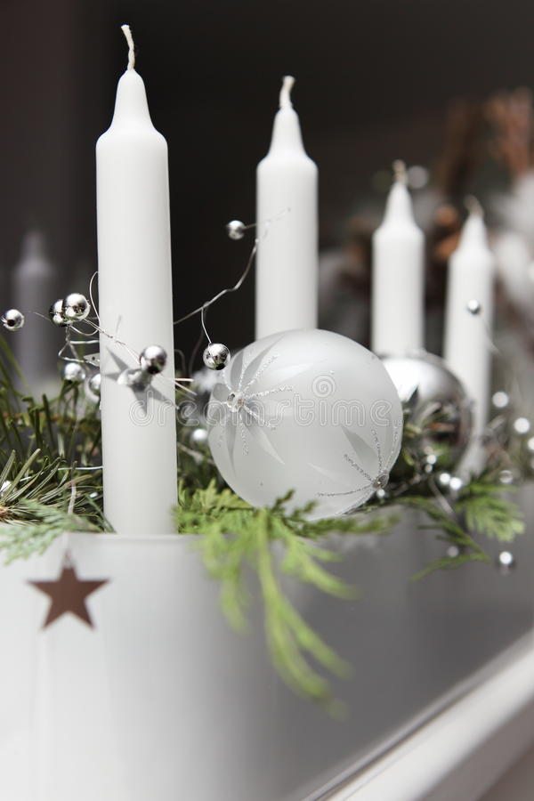 Aufkommen Wreath lizenzfreie stockbilder