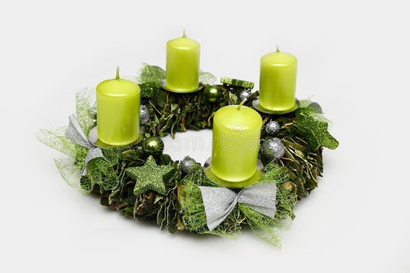 Aufkommen Wreath stockbilder