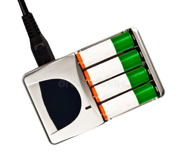 Aufladeeinheit mit Batterie lizenzfreies stockbild