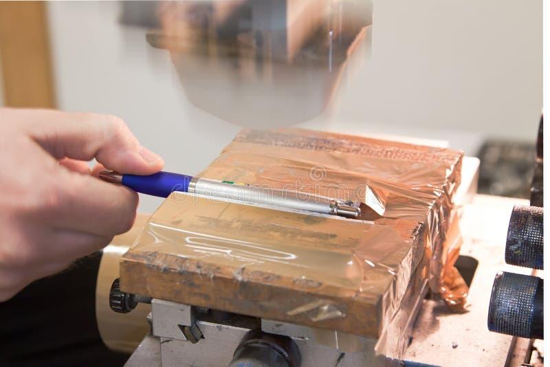 Auflagedruckmaschine stockfotos