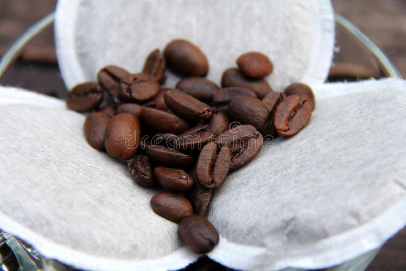Auflagenkaffee stockfoto