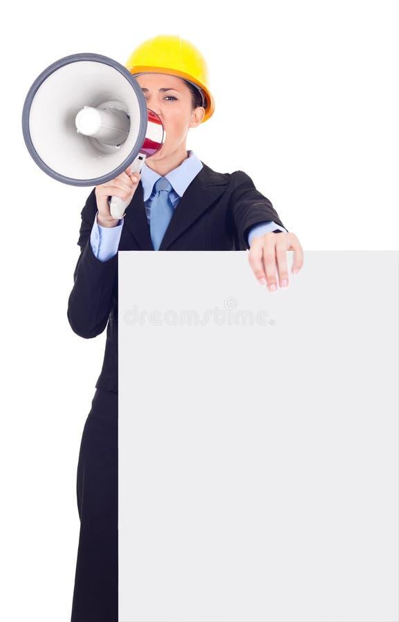 Aufmerksamkeit lizenzfreie stockfotos