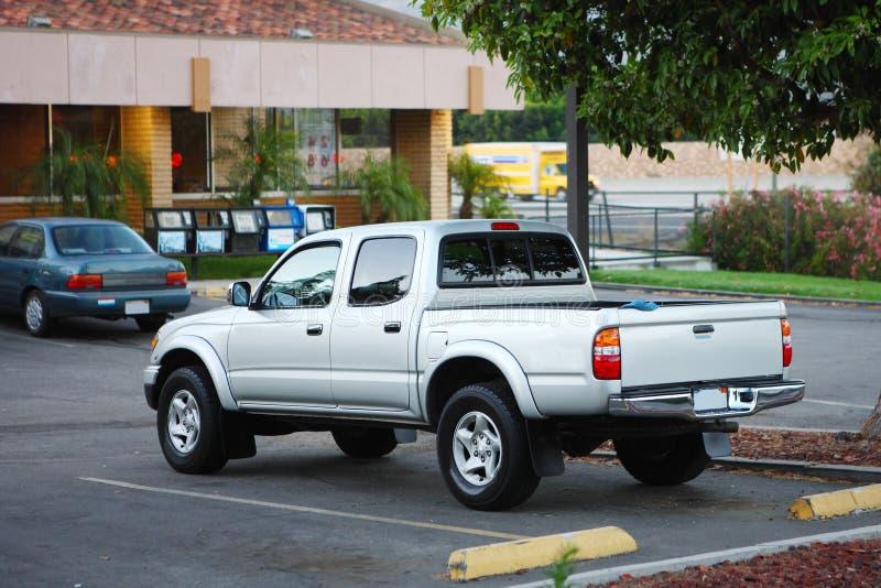 Aufnahme geparktes Motel stockbilder