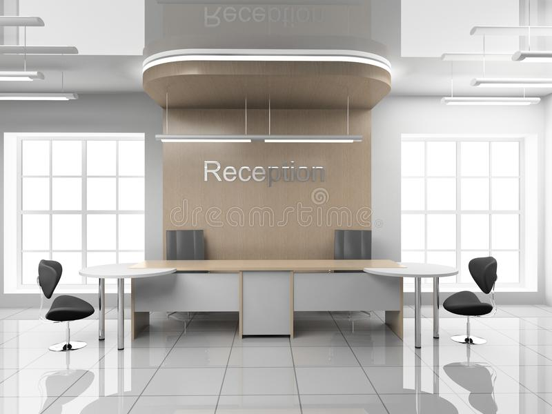 Aufnahme im Büro vektor abbildung