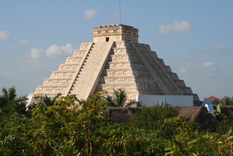 Aufnahme Mayas des Mexiko-Riviera iberostar Mayahote lizenzfreies stockbild