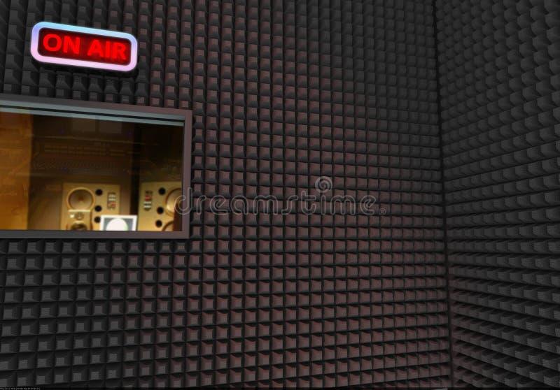 Aufnahmestudio stockbild