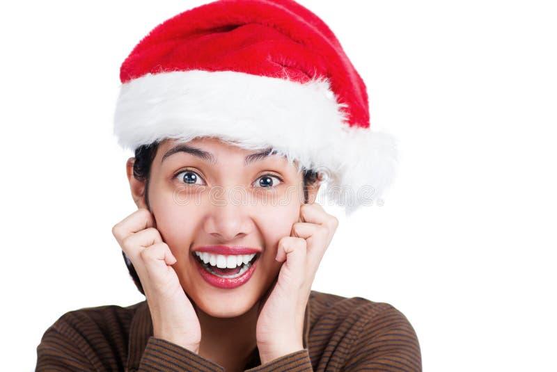Aufregendes Weihnachten lizenzfreie stockfotos
