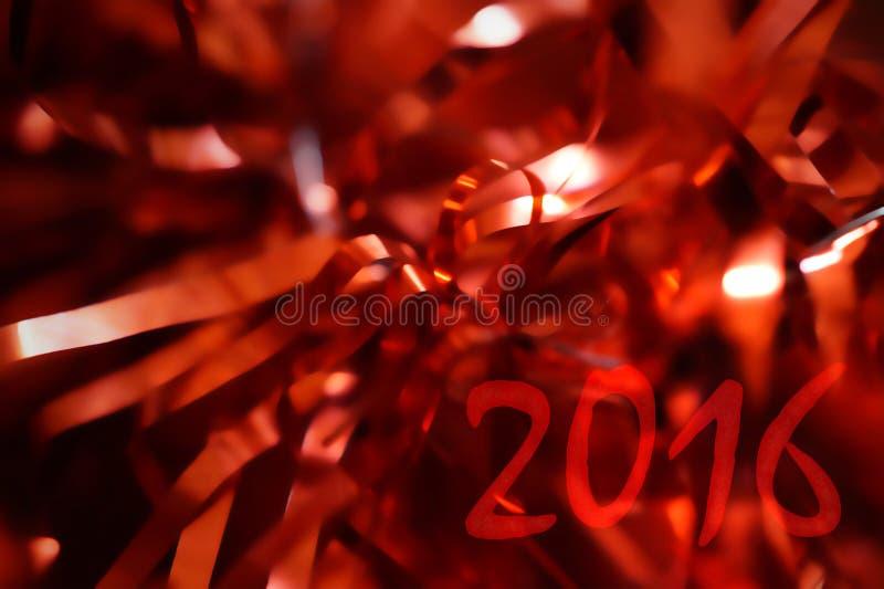 Aufschrift auf einem roten Hintergrund verwischt lizenzfreies stockbild