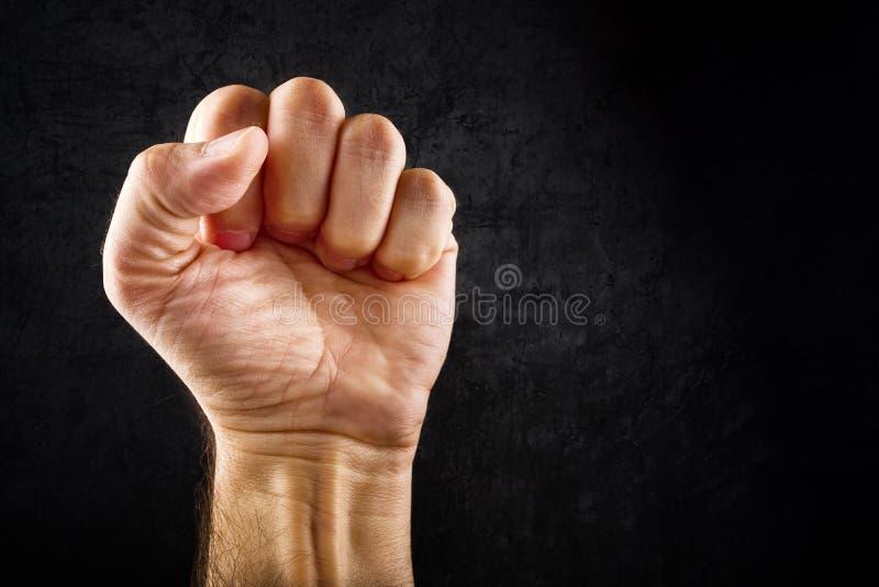 Aufstandprotestfaust lizenzfreie stockfotografie