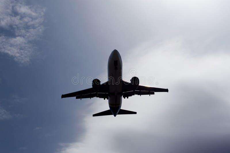 Aufstiegsflugzeug lizenzfreies stockfoto