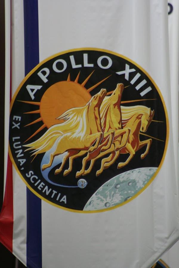 Auftrag-Abzeichen Apollo-13 lizenzfreie stockbilder
