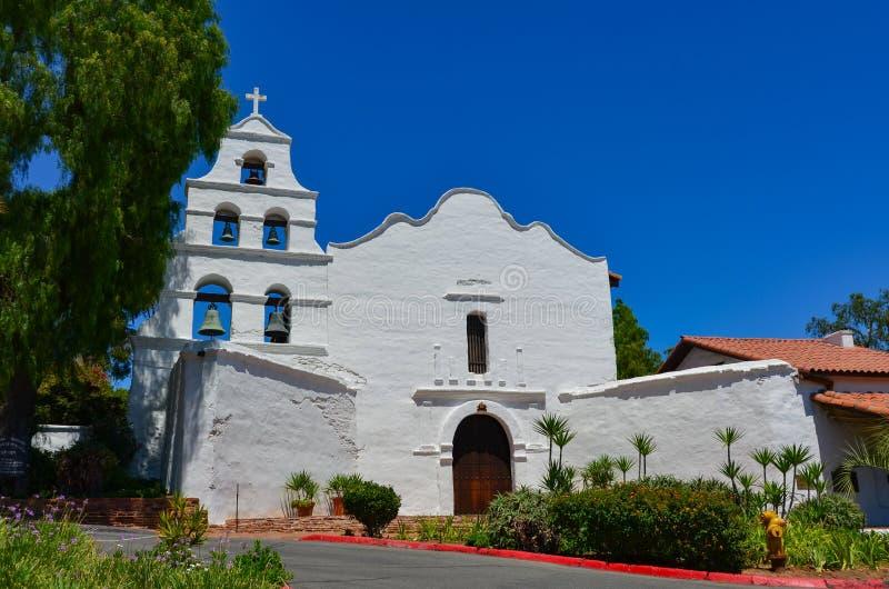 ¡ Auftrag-Basilika-San Diegos de Alcalà - San Diego, CA lizenzfreie stockbilder