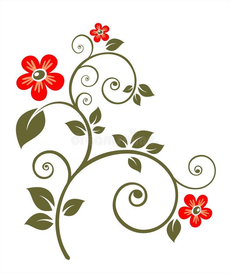 Aufwändige Blume stock abbildung