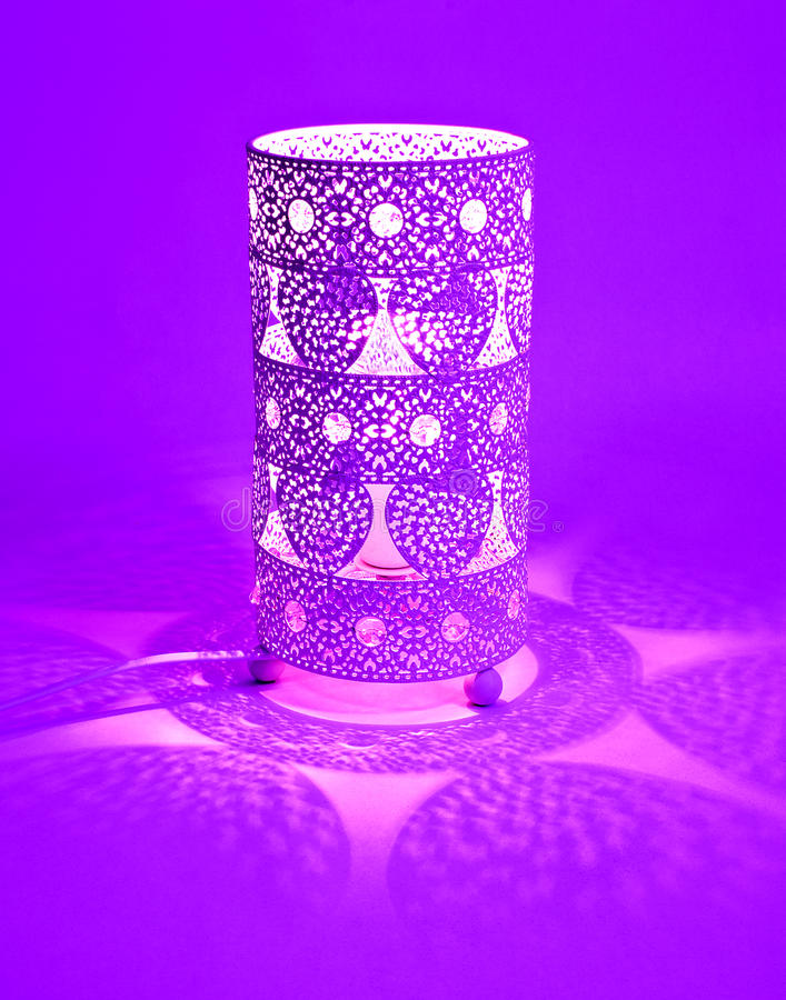 Aufwändige Lampe stockfotos