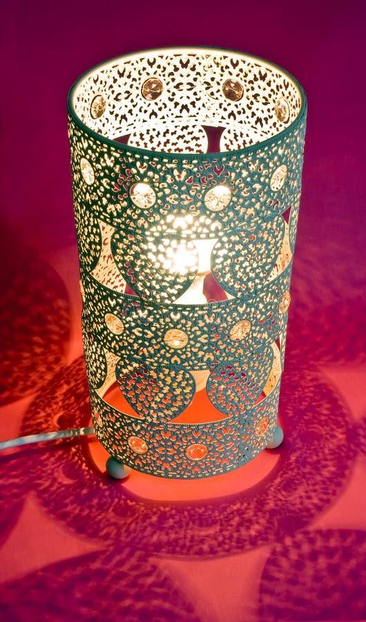 Aufwändige Lampe lizenzfreie stockbilder