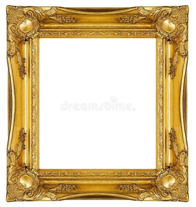 Aufwändiges Goldfeld stockfotografie