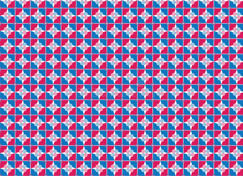 Aufwändiges nahtloses Muster, vektorabbildung vektor abbildung